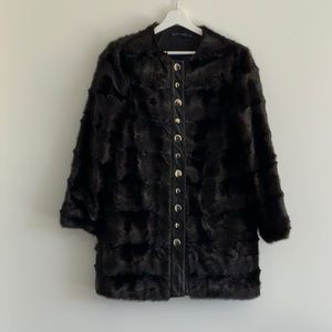 ZARA Faux Fur Jacket - Worn only a couple of times